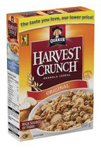 Quaker Harvest Crunch Original Granola Cereal