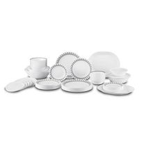Corelle Livingware City Block Dinnerware Set