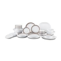 Corelle Livingware Sand and Sketch Dinnerware Set