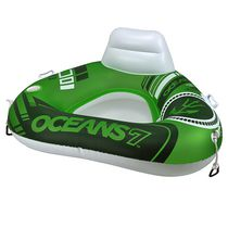 Oceans 7 Triangle River Sun Series Wedge Water Tube Green
