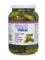 Great Value Garlic Dill Pickles