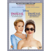 The Princess Diaries: 10th Anniversary Edition / The Princess Diaries 2: Royal Engagement (3-Disc) (2-Disc DVD + Blu-ray)