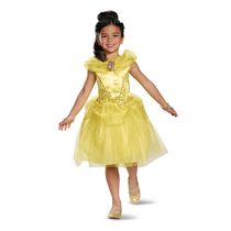 Disney Girls' Princess Belle Classic Costume XS