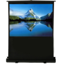 "EluneVision Portable Pneumatic Air-Lift Projector Screen - 80"" - 16:9"