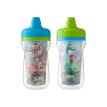 Gobelet à bec isotherme de 9 oz Good Dinosaur de The First Years - Paquet de 2