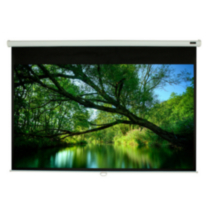 "EluneVision Triton Manual Pull-Down Projector Screen - 92"" - 16:9"