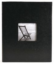 Blue Textured Paper Photo Album