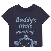 George British Design Baby Boys' Daddy's Monkey Short Sleeved T-Shirt 18-24 months