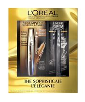 L'Oreal Paris The Sophisticate Voluminous Million Lashes Mascara and Lineur Intense Eye Liner Gift Set