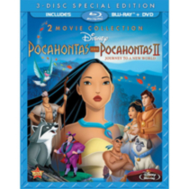 Pocahontas / Pocahontas II: Journey To A New World (3-Disc) (Special Edition) (Blu-ray + 2-Disc DVD)