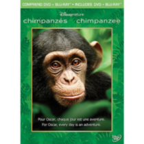 Disneynature: Chimpanzés (DVD + Blu-ray) (Bilingue)