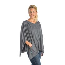 Infantino Llc 3-in-1 Nursing Shawl and Cover - Grey