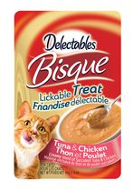 Delectables Bisque Lickable Cat Treat - Tuna & Chicken 40gm