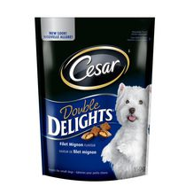 CESAR DOUBLE DELIGHTS TREATS: FILET MIGNON FLAVOUR