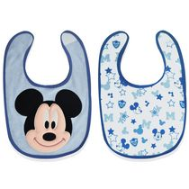 A D Sutton Mickey Character Bib, 2 Pieces