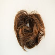 Fashion Hair Short Straight Scrunchie Caramel Blonde