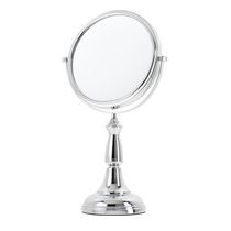 Danielle Magnifying Classic Vanity Decorative Mirror - Chrome Plated