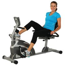 Exerpeutic 1000 XLS High Capacity Magnetic Recumbent Bike with Pulse