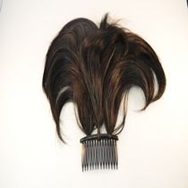 Fashion Hair 3 Prong Comb Straight Black