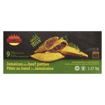 Patty King International Jamaican Style Patties - Mild Beef 9x130g