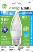 GE LED 4.5W CAM Daylight 1 PK