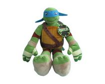 Teenage Mutant Ninja Turtles Leonardo Green Character Pillow