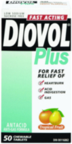 DIOVOL® Plus Tropical Fruit Chewable 50s