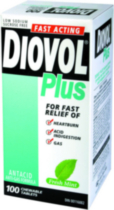 DIOVOL® Plus Fresh Mint Chewable 100s