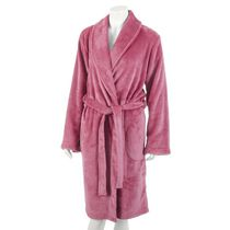 George Women's Plush Robe Pink 1X-2X