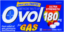 OVOL® Ultra Strength 180mg Chewable 32s