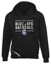 Toronto Blue Jays Design 24 Large Tailgate Hoody - Black