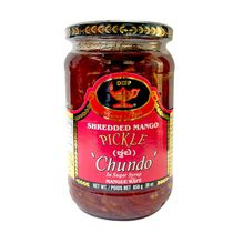 Deep Shredded Mango Pickle 'Chundo', 850 g