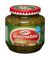 Bick's® Sweet Green Relish