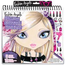 Fashion Angels Portefeuille de dessins styliste de maquillage et coiffure