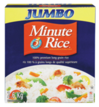 Minute Rice 100% Premium Long Grain Rice Jumbo