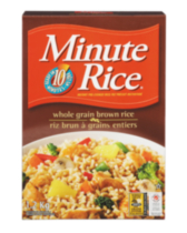 Riz brun à grains entiers Minute Rice