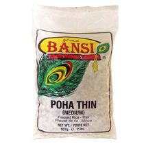 Bansi 'Poha Thin' Pressed Rice - Thin, 907 g