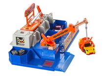 Hot Wheels Car Crusher Track Set