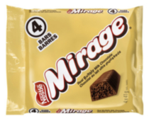 Mirage Four Pack Multipack Chocolate Bars