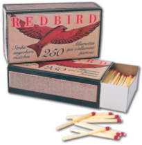 Redbird Strike Anywhere Matches