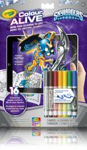 Crayola Colour Alive Skylanders Colouring Book
