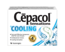 CEPACOL SENSATIONS LOZENGES: Cooling