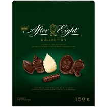 Chocolats After Eight de Nestle de la collection au chocolat noir et blanc