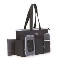 Graco Smart Organizer System Tote Diaper Bag - Black