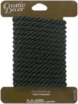 Creativ Décor Decorative Cord - Black