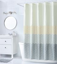 Mainstays Ombre Shine Fabric 70`` x 72`` Shower Curtain