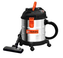 Kubota 5 Gallon Wet/Dry Stainless Steel Vacuum