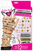 Fashion Angels Trendcessories Metallic Charm Mash-Up Bracelet Kit
