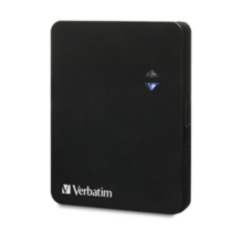 Verbatim Ultra-Slim Power Pack, 1200mAh - Black