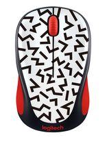 Logitech M317 Wireless Mouse Red